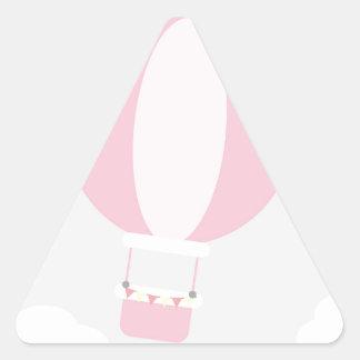 balão adesivo triangular