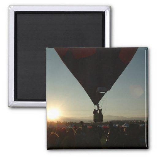 Balão Albuquerque na manhã Imas