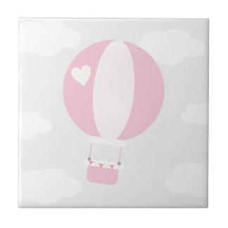 balão azulejo quadrado pequeno