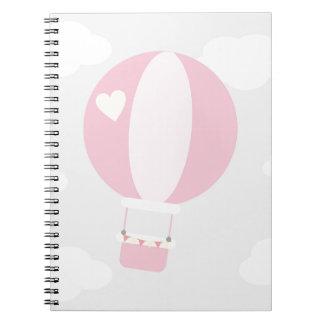 balão cadernos