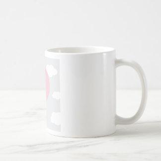 balão caneca de café