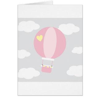 balão cartão comemorativo