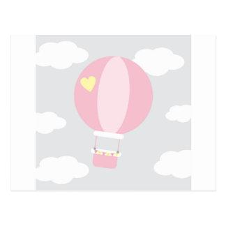 balão cartão postal