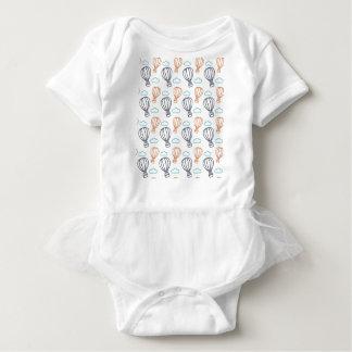 Balão de ar quente body para bebê