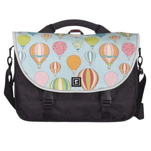 Balão de ar quente mala para notebook