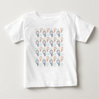 Balão de ar quente camiseta para bebê