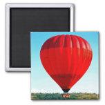 Balão de ar quente para comemorar a vida imãs