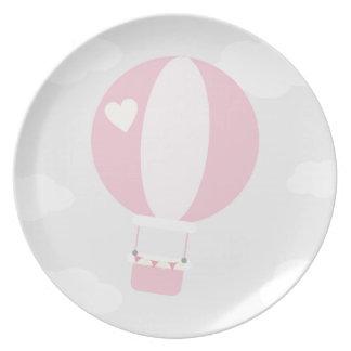 balão louças de jantar