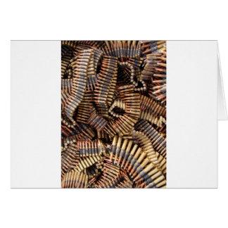 Balas munição cartao