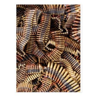 Balas, munição cartões postais
