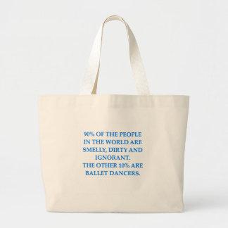 balé bolsas de lona