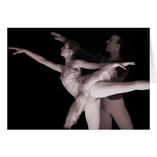 Balé - dança Partners 2 - vermelho Cartões