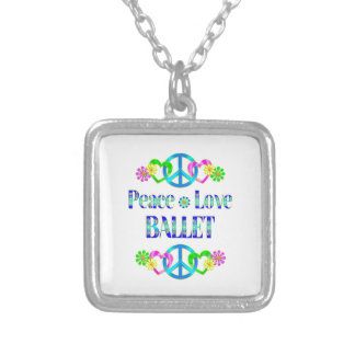 Balé do amor da paz bijuterias