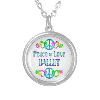 Balé do amor da paz pingentes
