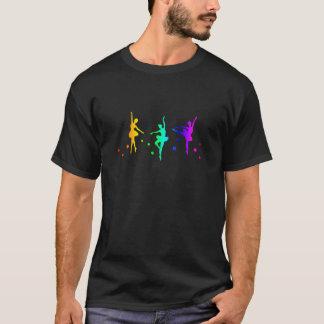 Balé do arco-íris camiseta