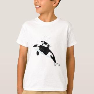 Baleia de assassino da orca camiseta