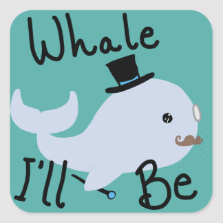 Baleia eu serei etiqueta
