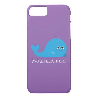 Baleia, olá! lá! Capa de telefone
