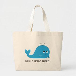 Baleia, olá! lá! O bolsa