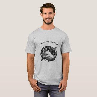 Baleia & sereia - camisa do T dos homens