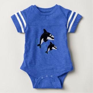 baleias body para bebê