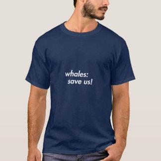 Baleias: Salvar nos! camisa