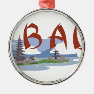 Bali Ornamento De Metal