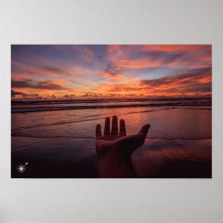 Bali Sunset Poster