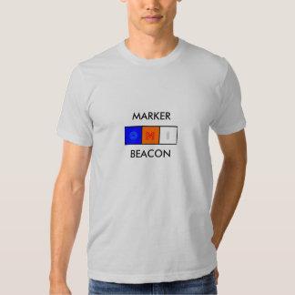 baliza de marcador, MARKERBEACON T-shirt