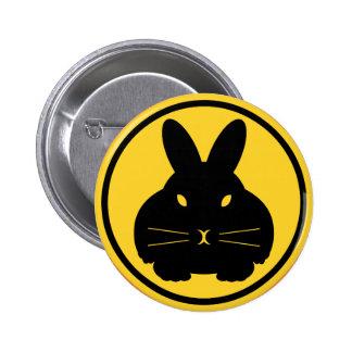 Baliza do coelho - botão da suiça pins