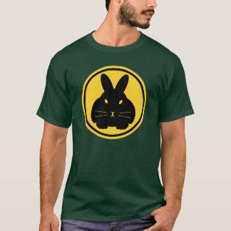 Baliza do coelho - suiças na parte dianteira e da camiseta