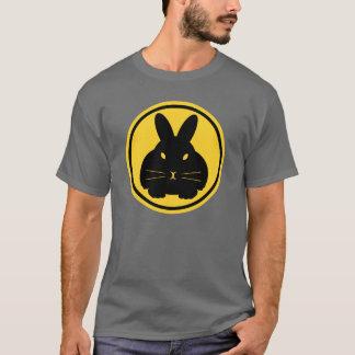 Baliza do coelho - suiças na parte dianteira tshirts