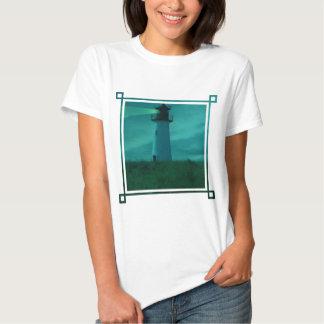 Baliza do t-shirt leve das senhoras