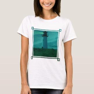 Baliza do t-shirt leve das senhoras camiseta