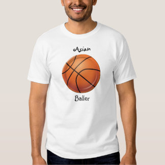 baller asiático t-shirt
