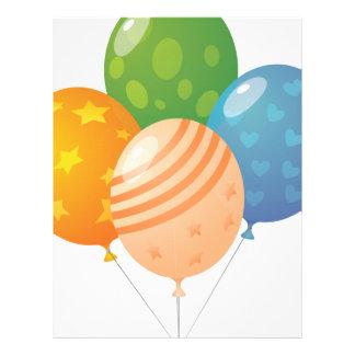 Ballons Papel De Carta Personalizados