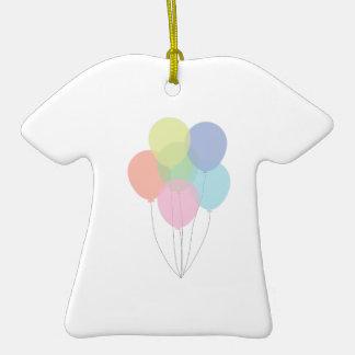 Balões do aniversário enfeites de natal
