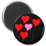Balões do coração dos namorados ima