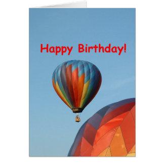Balões feliz aniversario 2 genéricos cartão