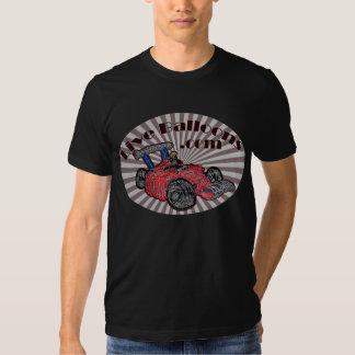 balões vivos - Personalizar-pretos T-shirt