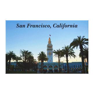 Balsa de San Francisco que constrói as canvas #11