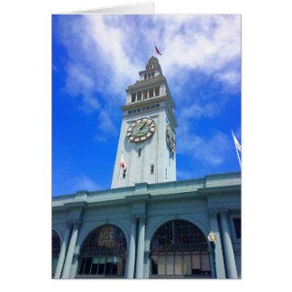 Balsa de San Francisco que constrói o cartão #18