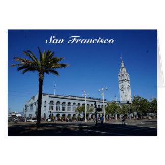 Balsa de San Francisco que constrói o cartão #2