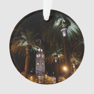 Balsa de San Francisco que constrói o ornamento