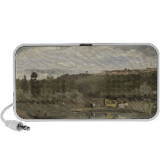 Balsa em Varenne-Santo-Hilário 1864 Caixinhas De Som Para iPod