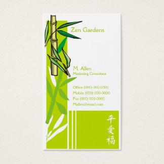 Bambu Cartão De Visitas