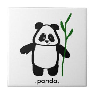 Bambu o azulejo da panda
