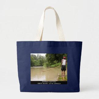 Bambu que transporta o grande rio Lethe Jamaica Bolsas De Lona