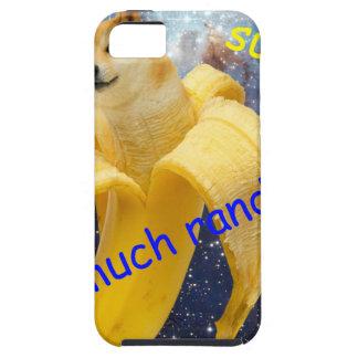 banana   - doge - shibe - espaço - uau doge capa para iPhone 5