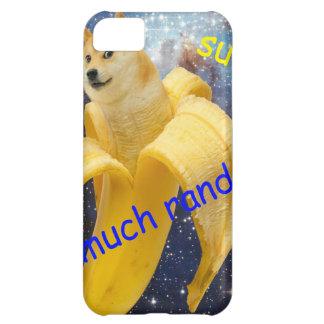 banana   - doge - shibe - espaço - uau doge capa para iPhone 5C